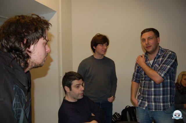 Christoph Gräf (rechts) im Gespräch mit