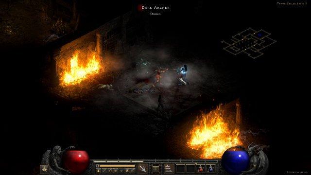 So sollte Diablo 2 sein: finster und blutig.