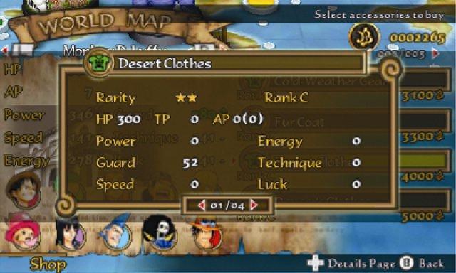 Screenshot - One Piece: Romance Dawn (3DS)