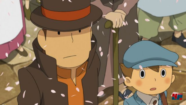 Screenshot - Professor Layton vs. Phoenix Wright: Ace Attorney (3DS)