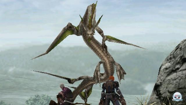 Screenshot - Frontier Gate (PSP)