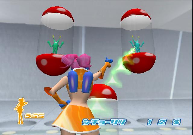 Mit Ulala in Space Channel 5 auf Alienjagd gehen: Eines der Dreamcast-Highlights.
