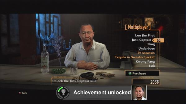 Stranglehold<br><br>»Meet John Woo« - tja, dann machen wir das doch mal: 360 an, Spiel starten, Hauptmenü, auf »Unlock Shop«, zack, fünf Punkte mehr. Äh, geht's noch einfacher? Aber ja! Und zwar in... 1721900