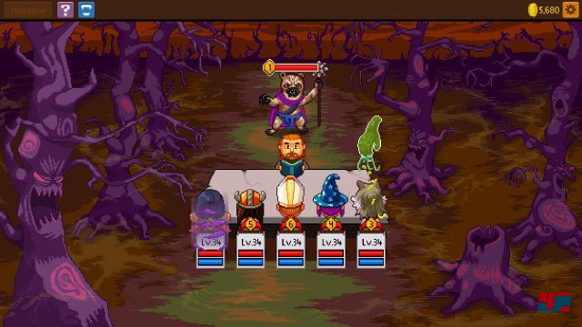 Screenshot - Knights of Pen & Paper: Here Be Dragons (PC)