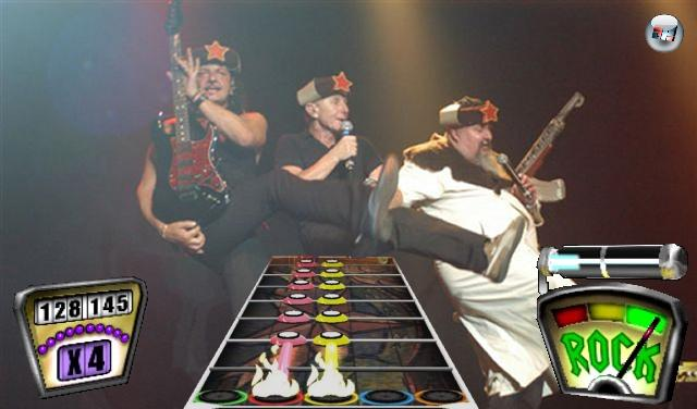 <b>EAV Hero</b><br><br>Kommt keinesfalls für Guitar Hero 3, da selbiges keinen Gesang unterstützt. Und wer würde darauf verzichten wollen »Ba-Ba-Ba-Ba-Ba-Ba-Ba-Ba-Banküberfall« zu schreien, während das lange Haar im Takt des Beats geschüttelt wird. Eine Integration in Rock Band erscheint daher weitaus wahrscheinlicher. 1791618
