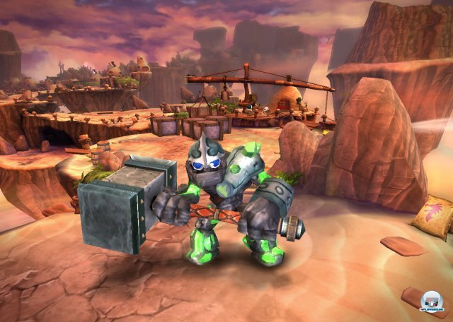 Mit Giants wartet ein komplett neues  umfangreiches Set auf Sammelwütige. Aber Vorsicht: Nicht alle Figuren lassen sich in Spyro's Adventure nutzen.