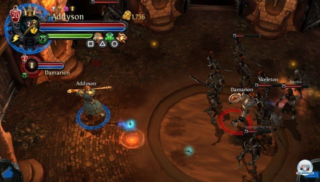 Screenshot - Dungeon Hunter: Alliance (PS_Vita)