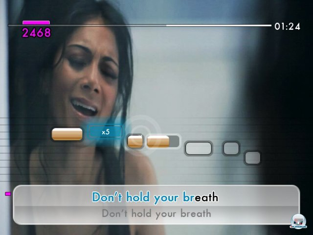 Screenshot - We Sing: Pop! (Wii)