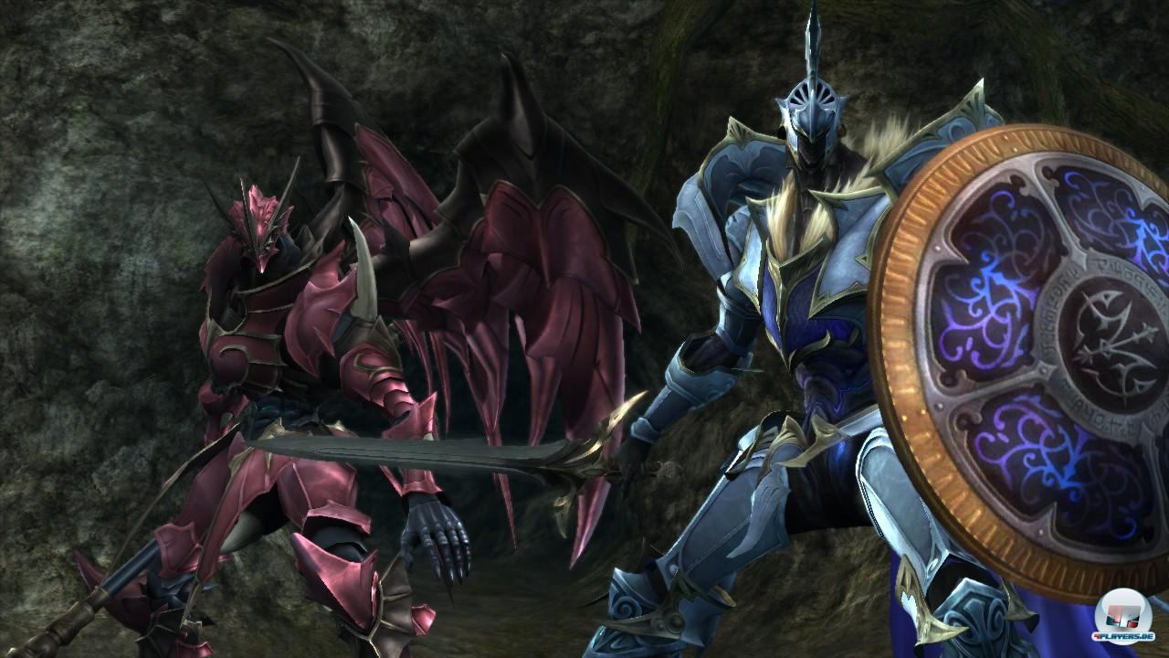 Neben Caesar und Leonard kann sich neuerdings auch der eigene Charakter in einen riesigen Ritter verwandeln.