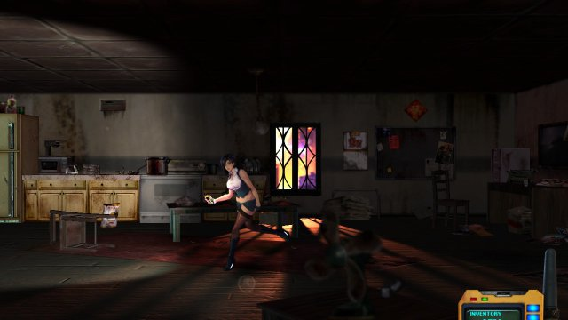 Screenshot - Sense: A Cyberpunk Ghost Story (Switch)