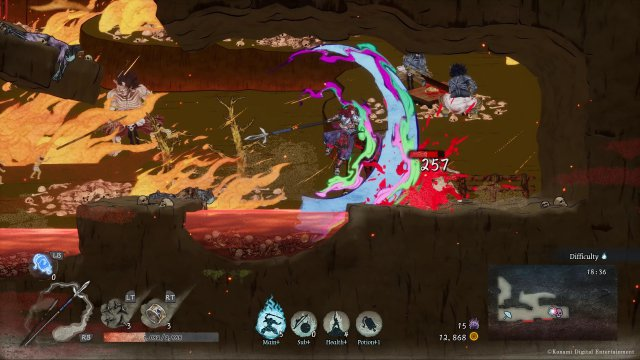 Screenshot - GetsuFumaDen: Undying Moon (PC, Switch) 92639434