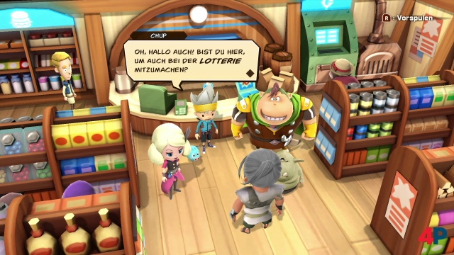 Screenshot - Snack World: Die Schatzjagd - Gold (Switch)
