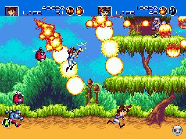 <br><br>...Gunstar Heroes (1993) - das 2D-Run-and-Gun schlechthin, mit dem die Entwickler von Treasure ihren Ruf als 2D-Götter zementierten... 1876098
