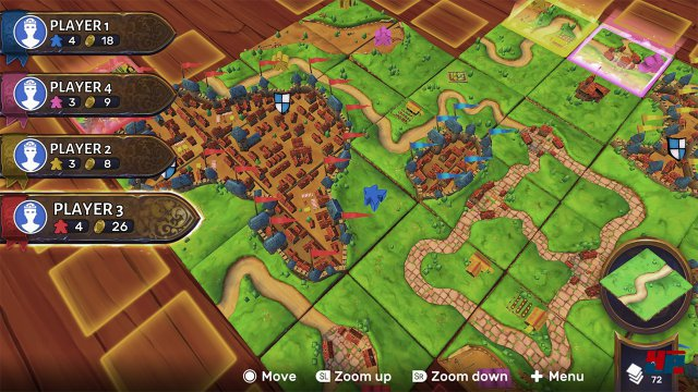 Screenshot - Carcassonne (Switch)
