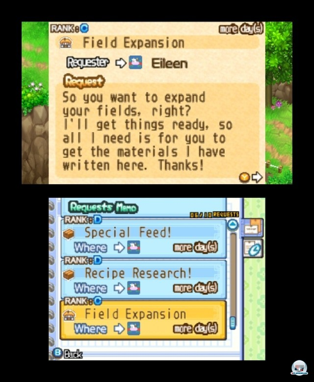 Screenshot - Harvest Moon: The Tale of Two Towns (3DS) 2232308