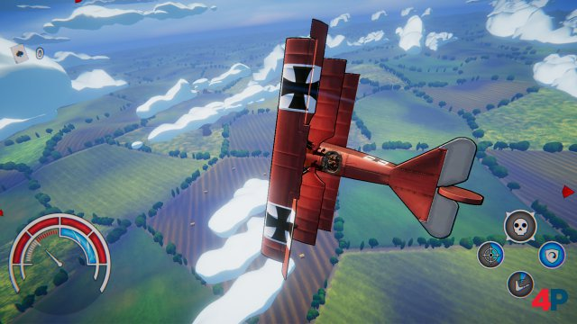 Screenshot - Red Wings: Aces of the Sky (PC)
