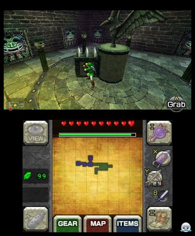 Screenshot - The Legend of Zelda: Ocarina of Time 3D (3DS) 2230668