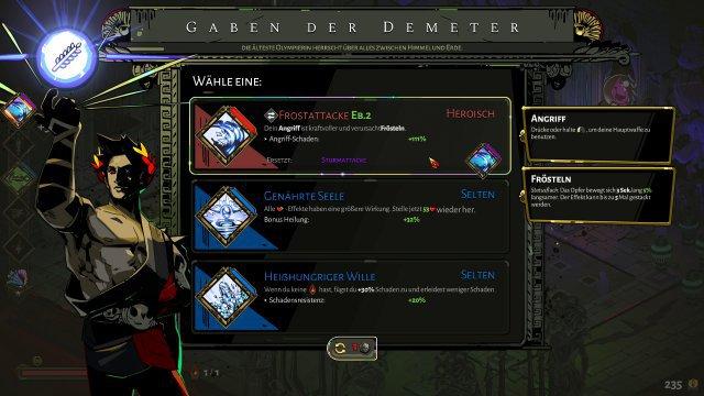 Welche Gabe der Demeter darf es denn sein? Es gibt außerdem Duo-Gaben, welche die Kräfte von zwei Göttern vereinen.