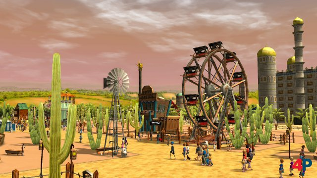 Screenshot - RollerCoaster Tycoon 3: Complete Edition (Switch)