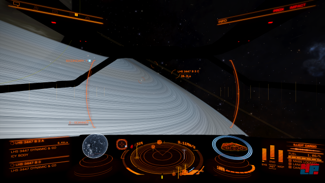 Auch auf Xbox One entdecken Raumschiff-Piloten eine fantastische Milchstraße.