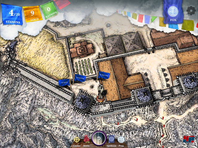 Screenshot - Sorcery! 4- The Crown of Kings (iPad) 92535368