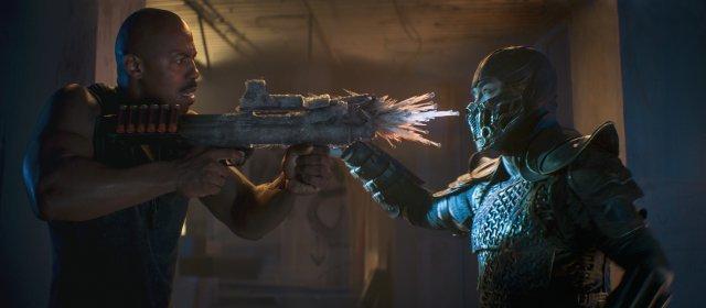 Jax vs. Sub-Zero: Es kommt zu vielen Zweikämpfen im Film - diese laufen aber eher wie klassische Actionszenen den wie Kämpfe in einem Ring ab.