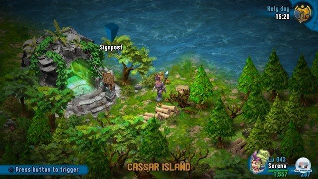 In der aus mehreren Inseln bestehenden Spielwelt gibt es viel zu entdecken.
