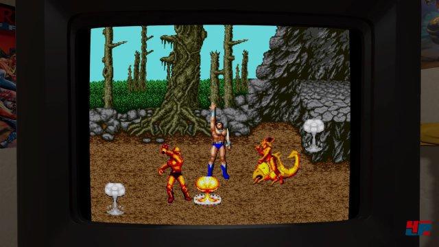 Auch die Fantasy-Prügler der Golden-Axe-Serie sind in der Sammlung zu finden.