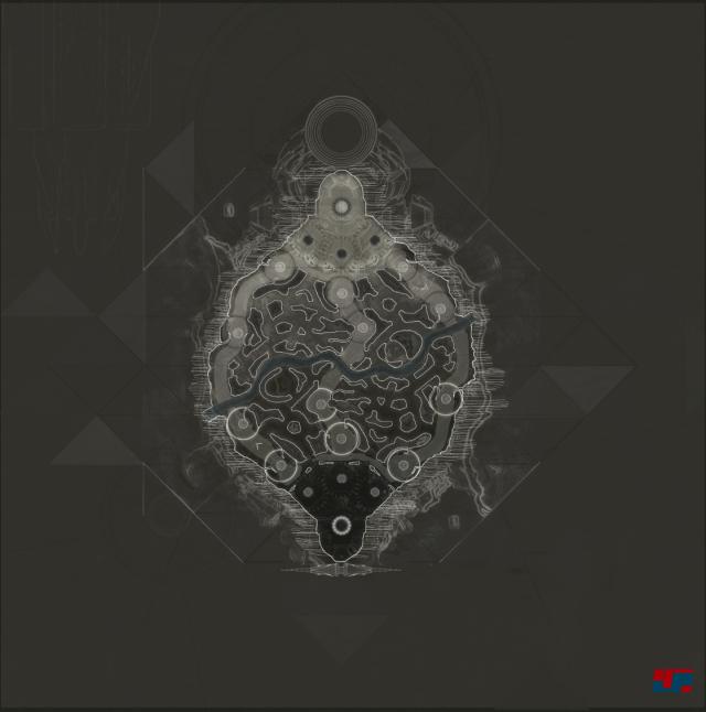 Das Layout der neuen Karte