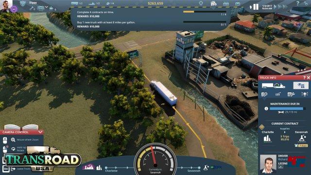 Screenshot - TransRoad: USA (Mac) 92554003