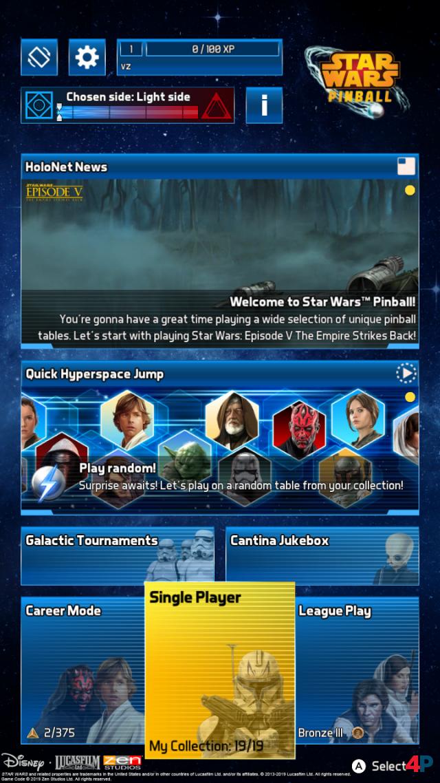 Screenshot - Star Wars Pinball (Switch) 92592602