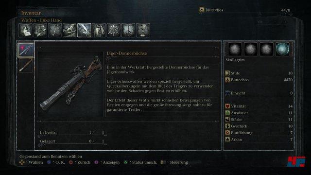 Welche Klinge und welche Waffe darf es sein? Man hat zu Beginn die Wahl...