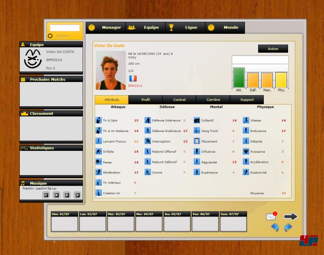 Screenshot - Basketball Manager 2014 - Das Original (PC)