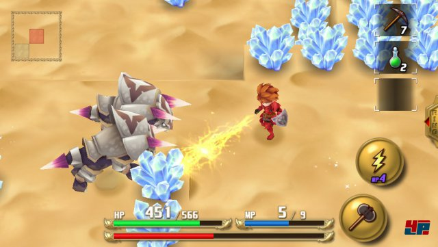 Screenshot - Adventures of Mana (Android) 92519763