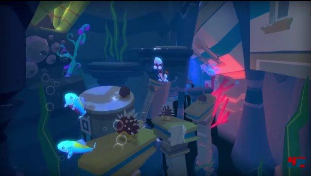 Halbherzig: Die Unterwasser-Levels funktionieren wie die übrigen - mit dem Unterschied, dass sich Lucky etwas träger steuert.