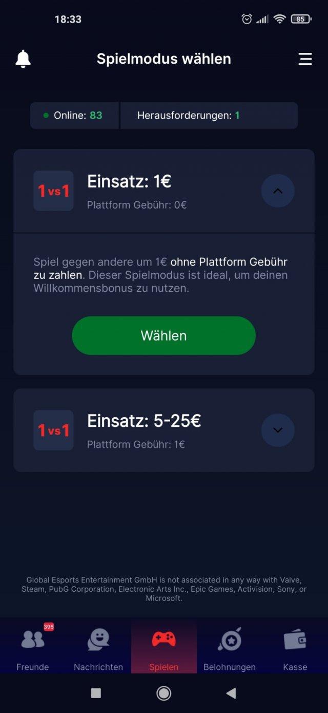 Screenshot - Gaming Stars (Android, iPhone, PC)