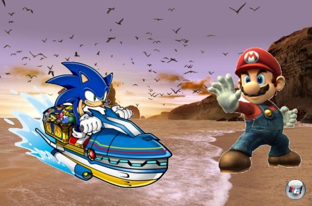 Runde Eins: Mario vs. Sonic<br><br>Beginnen wir mal mit der aufgeweichtesten Rivalität: Mario gegen Sonic, Nintendo gegen Sega. In den 90er Jahren war alles einfach, war alles klar: Hier die Igel-Fraktion, hier die Klempner-Freunde, eine Überschneidung war nicht möglich. Und heute? Da tummeln sich die beiden zusammen bei den olympischen Spielen und kloppen sich gegenseitig, selbstverständlich in aller Freundschaft, mit Hämmern und gezielten Kicks das Grinsen aus dem Gesicht. 1778253