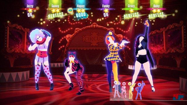Und die Welt wird bunt: Auch in diesem Jahr setzt Just Dance auf bewährte Elemente wie den knalligen Grafikstil.