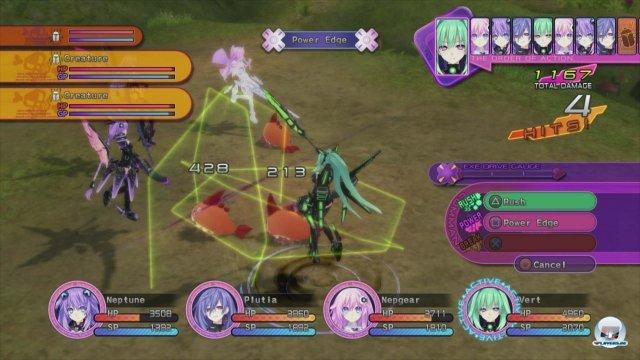 Screenshot - Hyperdimension Neptunia Victory (PlayStation3)