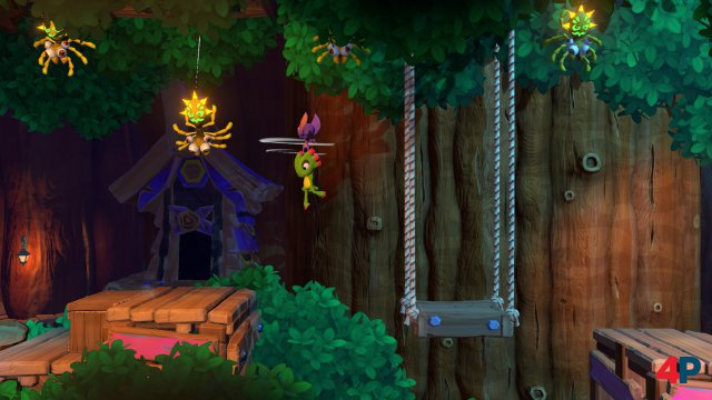 Screenshot - Yooka-Laylee and the Impossible Lair (PC) 92589550