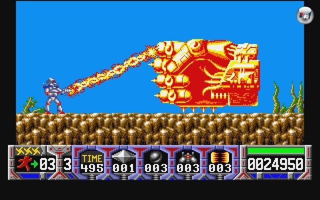 In den meisten Sidescrollern ging es um das pure Rennen und Springen - aber es gab und gibt auch sehr viele Spiele, die diesem Reaktionstest noch einen gesunden Ballerfinger abverlangen. Jump-n-Run-n-Rabatz war das Credo von Spielen wie Turrican, Contra, Metroid, Gunstar Heroes, Metal Slug, Earthworm Jim oder Mega Man. 2100098