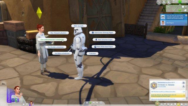 Screenshot - Die Sims 4 Star Wars: Reise nach Batuu-Gameplay-Pack (PC) 92624185