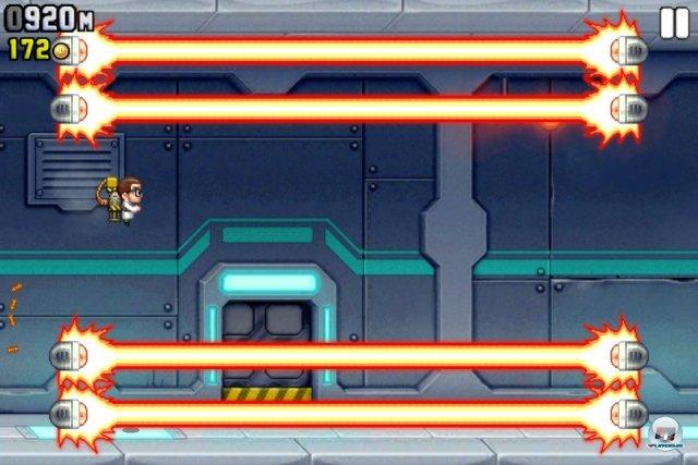 Screenshot - Jetpack Joyride (iPhone) 2259192