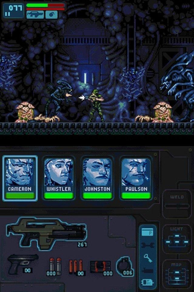 Screenshot - Aliens: Infestation (NDS)