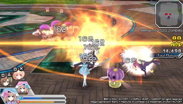 Screenshot - MegaTagmension Blanc   Neptune VS Zombies (PS_Vita) 92525116