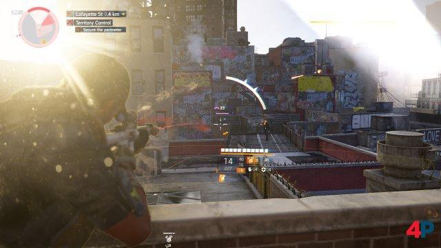 Obwohl Stadia-Agenten dasselbe erleben wie PC- und Konsolenspieler, leidet die Action unter der deutlich spürbaren Eingabeverzögerung.