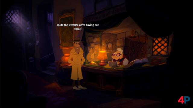 Screenshot - Gibbous - A Cthulhu Adventure (PC)
