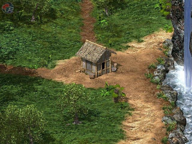 Zutritt zu einer Siedlung 18699