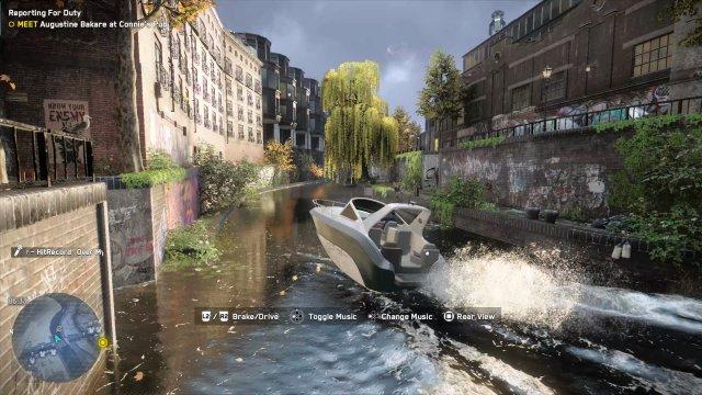 Gar nicht schlecht: Das futuristische London hat durchaus seinen Reiz.