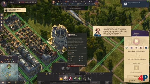 Screenshot - Anno 1800: Paläste der Macht (PC)